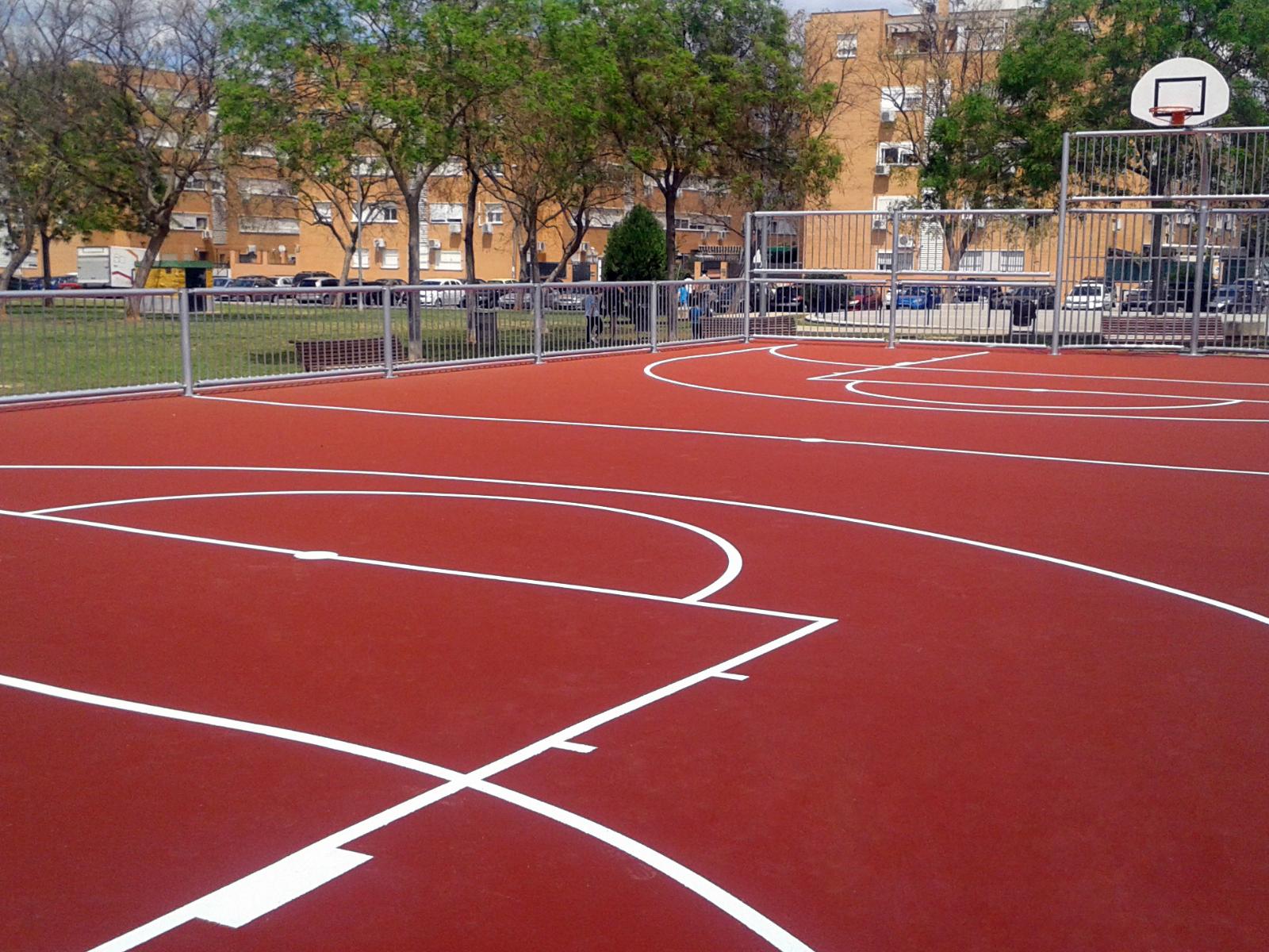 Soluciones para pistas polideportivas en exterior