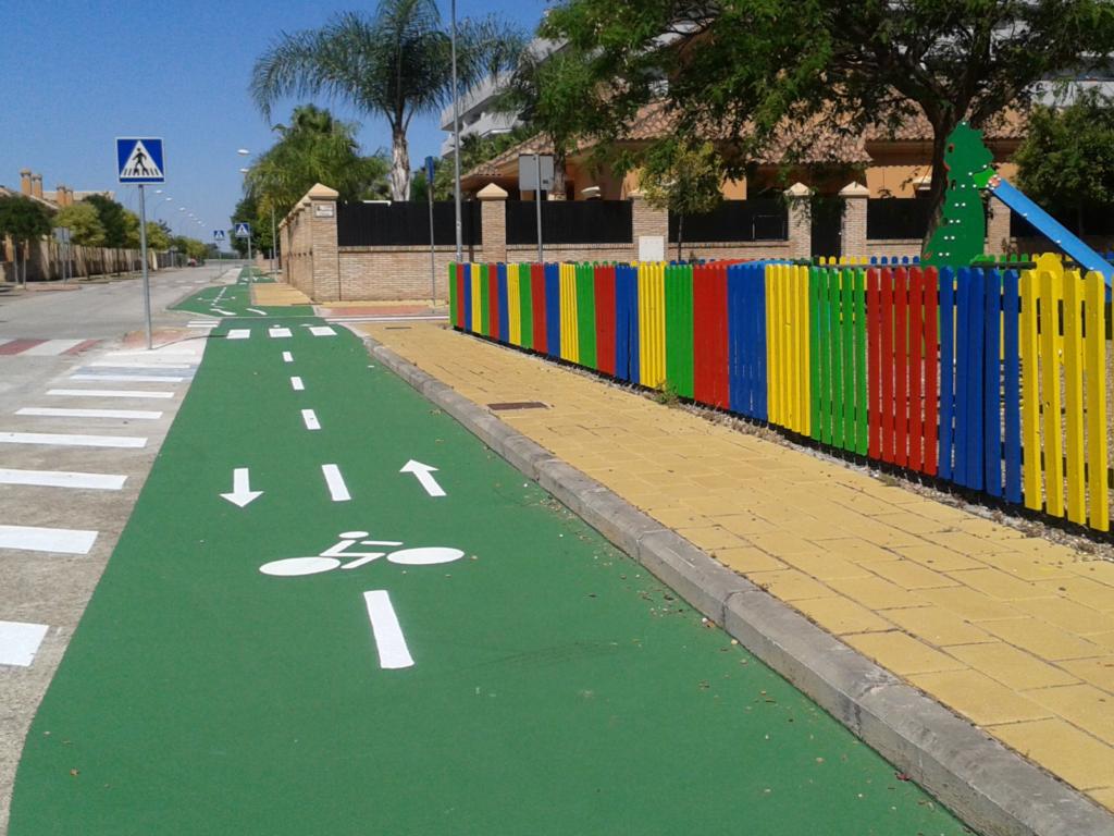 Woll City Asphalt : revestimiento para aparcamientos, vías ciclistas, parques, etc.