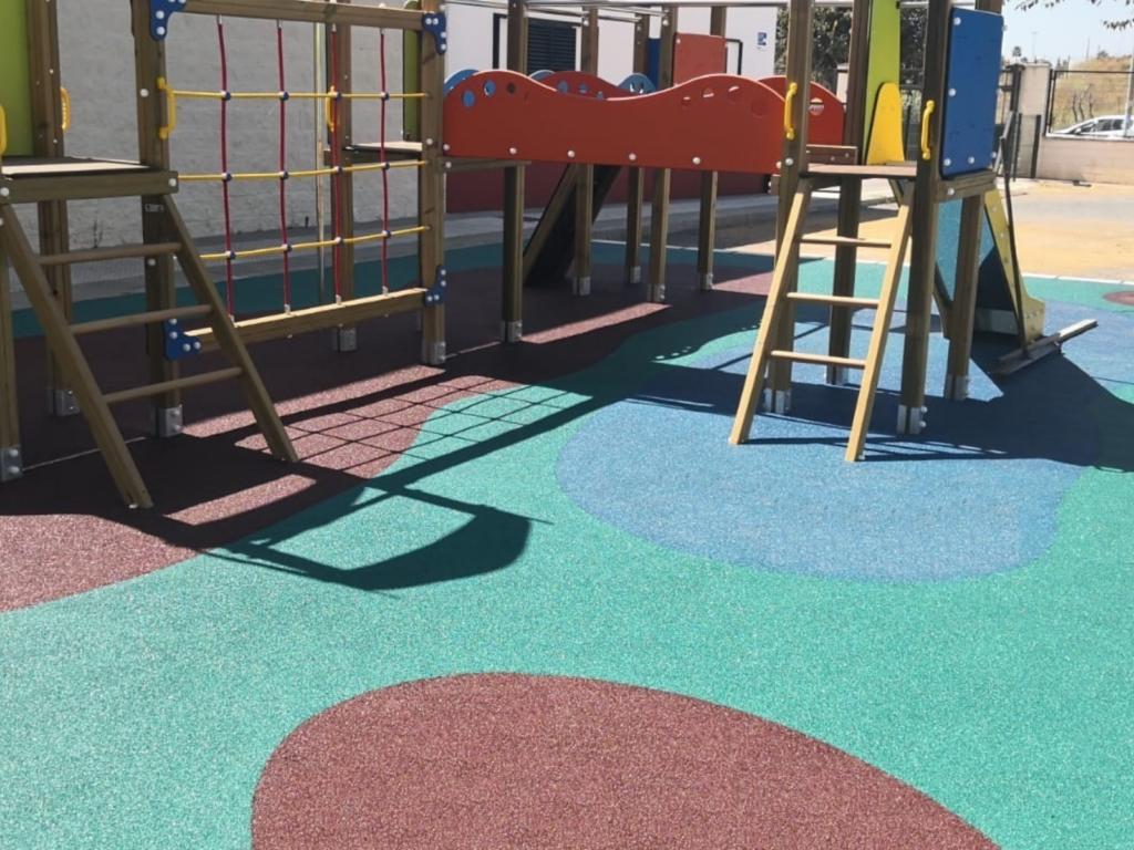 WollCity Park y Alcorques - elimina las posibles barreras arquitectónicas de parques infantiles o instalaciones deportivas