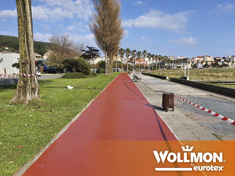 Carril Bici A Coruña Wollmon Eurotex