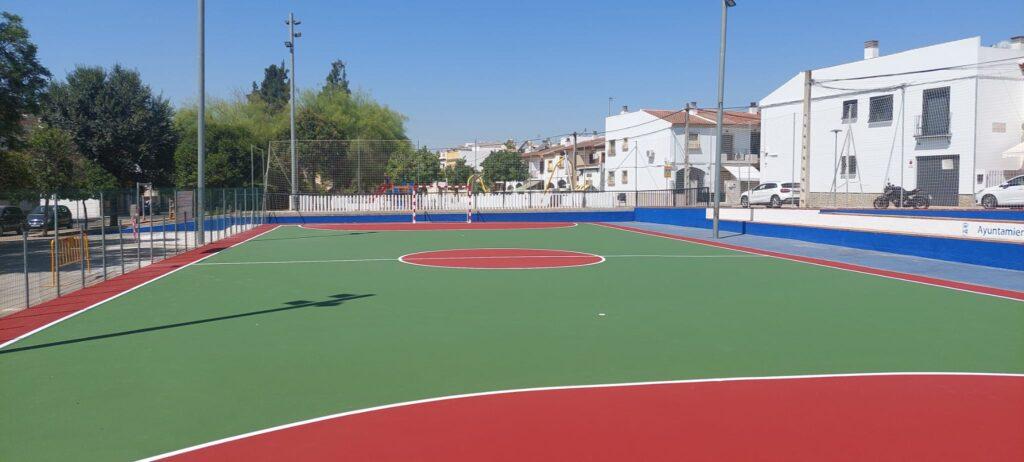 Pavimento suelo deportivo Wollmon El Viso del Alcor
